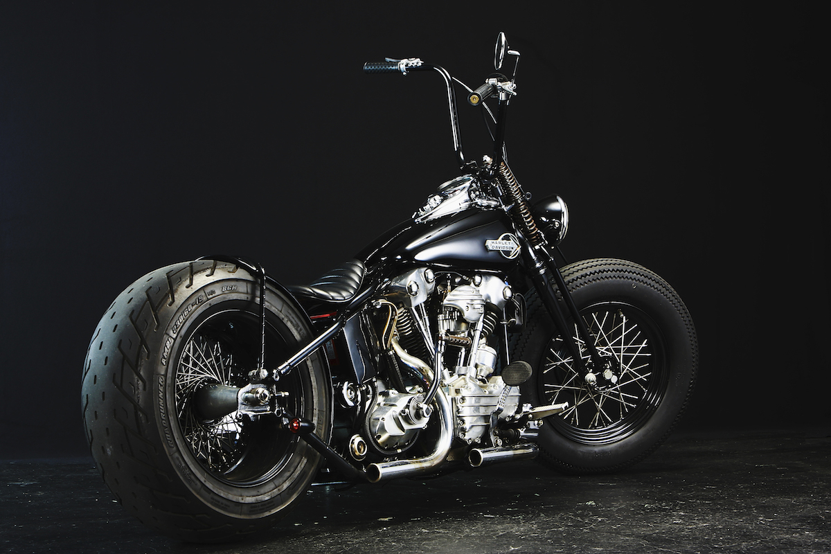 This custom…:WITH AN OLD STYLE H-D… YES, WE BELIEVE IT… 4