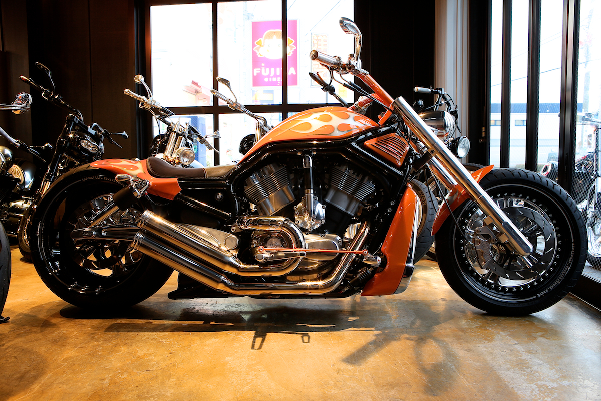 13 YEARS AGO…:FIRST V-ROD CUSTOM FOR US : DESIGNED BY VIOLATOR MOTORCYCLES 1