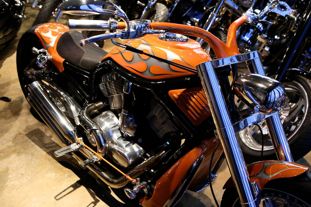 13 YEARS AGO…:FIRST V-ROD CUSTOM FOR US : DESIGNED BY VIOLATOR MOTORCYCLES 3