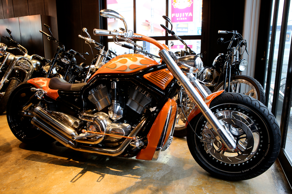 13 YEARS AGO…:FIRST V-ROD CUSTOM FOR US : DESIGNED BY VIOLATOR MOTORCYCLES 4