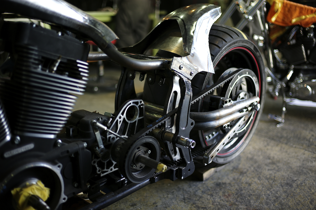 The Flame of Passion:FROM HD CUSTOM MOTORCYCLES FACTORY 2