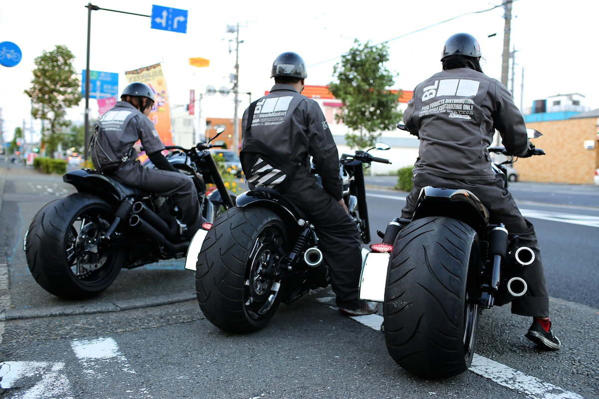 Complete Black… It is our style.:BADLAND'S BLACK DEVILS!! 2