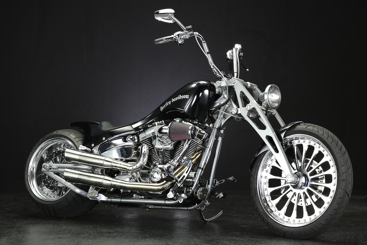 Our original Girder Fork for All Harley Davidson & all V-ROD / for All Model & Year.:BADLAND ORIGINAL GIRDER FORK 11