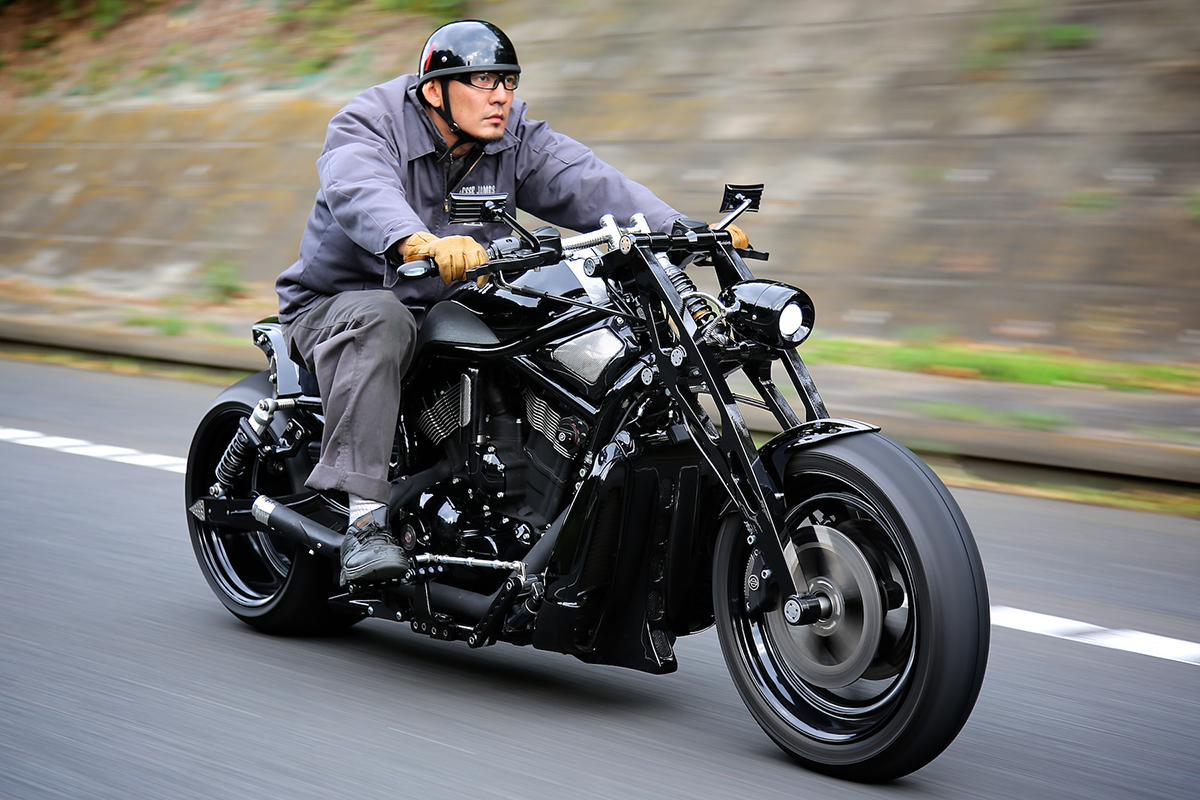 Our original Girder Fork for All Harley Davidson & all V-ROD / for All Model & Year.:BADLAND ORIGINAL GIRDER FORK 13