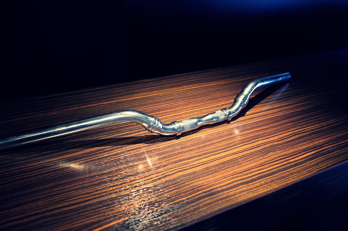 SCULPTURE HANDLEBAR:彫刻の様なワンメイク・ハンドルバー 4